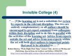 invisible college 4