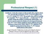 professional respect 1