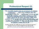 professional respect 2