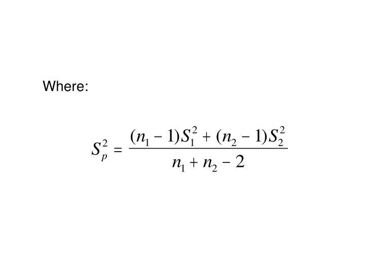 Where: