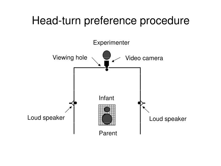 Head-turn preference procedure