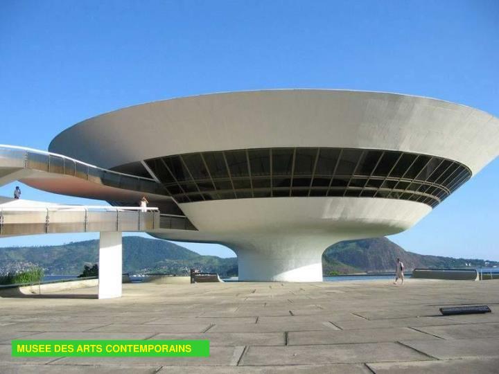 MUSEE DES ARTS CONTEMPORAINS