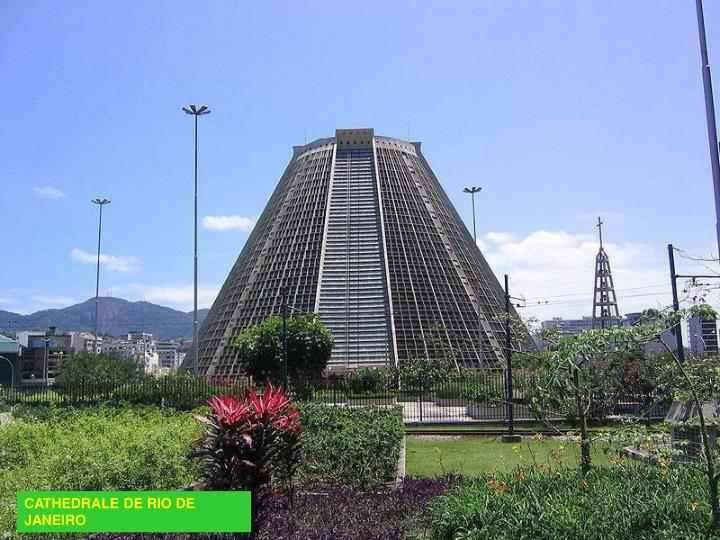 CATHEDRALE DE RIO DE JANEIRO