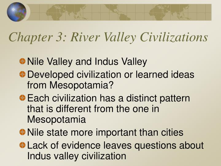 chapter 3 river valley civilizations n.