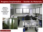 projetos implantados gest o de materiais1