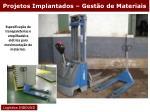 projetos implantados gest o de materiais18