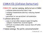 csma cd collision detection