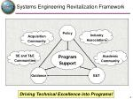 systems engineering revitalization framework