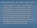 samuel bowles our new west 1869