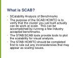 what is scab