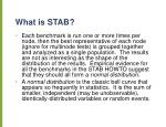 what is stab1