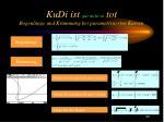 kudi ist gar nicht so tot bogenl nge und kr mmung bei parametrisierten kurven
