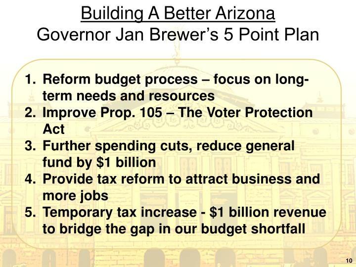 Building A Better Arizona