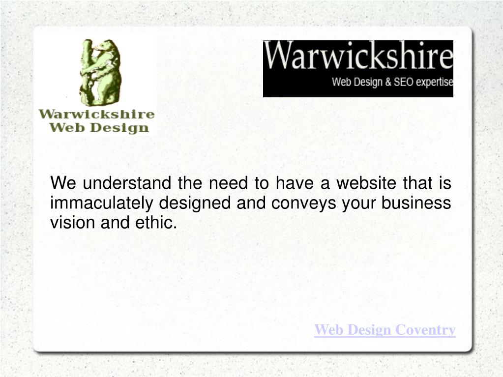 We understand the need to have a website that is immaculately designed and conveys your business vision and ethic.