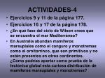 actividades 4