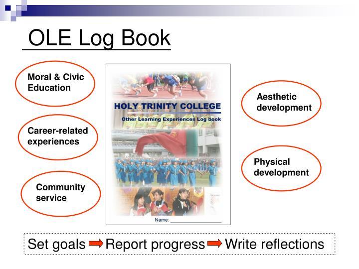 Set goals     Report progress     Write reflections