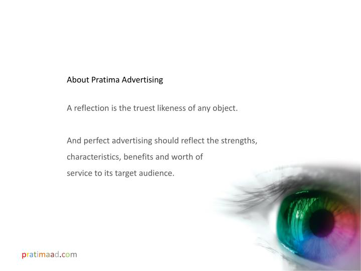 About Pratima Advertising