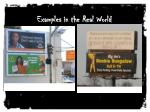 examples in the real world