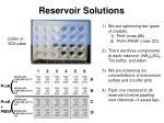 reservoir solutions