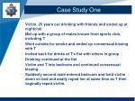 case study one1