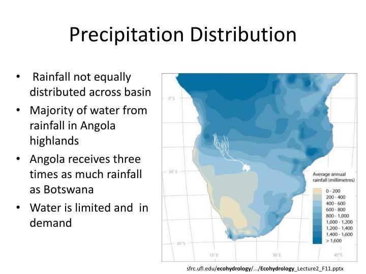 Precipitation Distribution