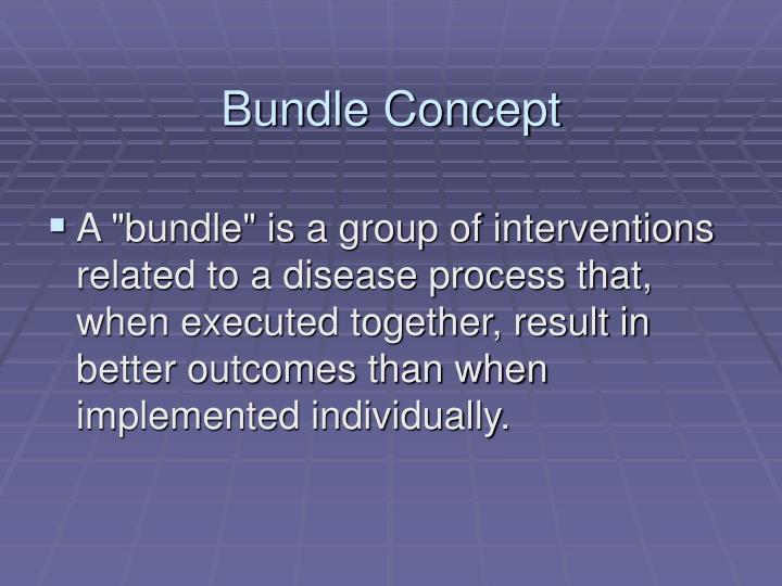 Bundle Concept
