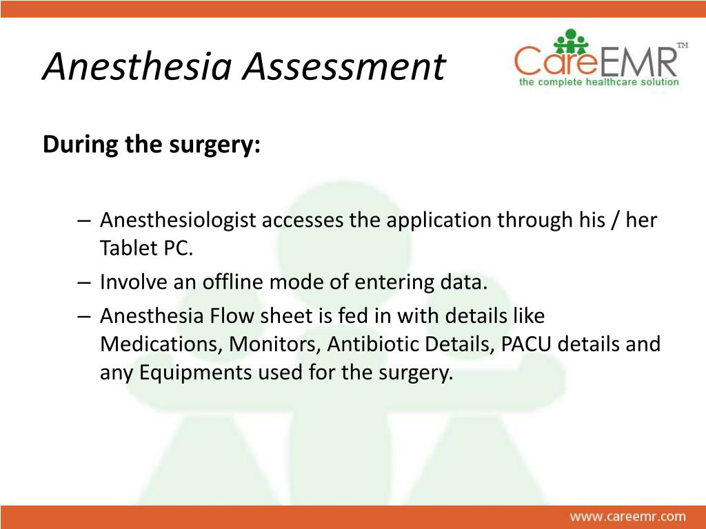 Anesthesia Assessment