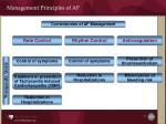 management principles of af