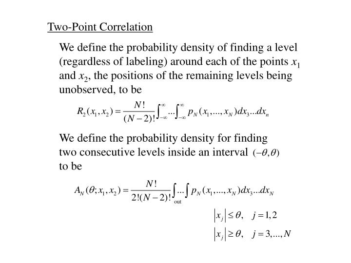 Two-Point Correlation