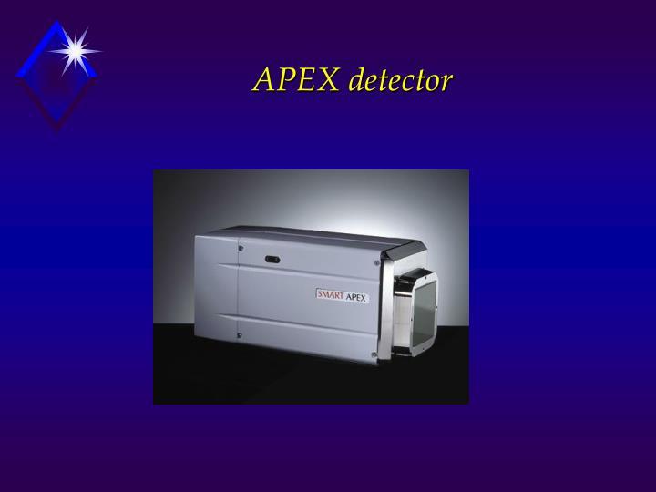 APEX detector