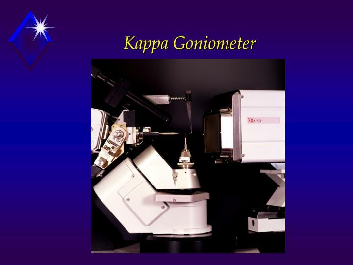 Kappa Goniometer