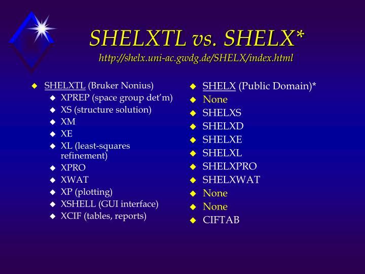 SHELXTL