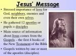 jesus message1