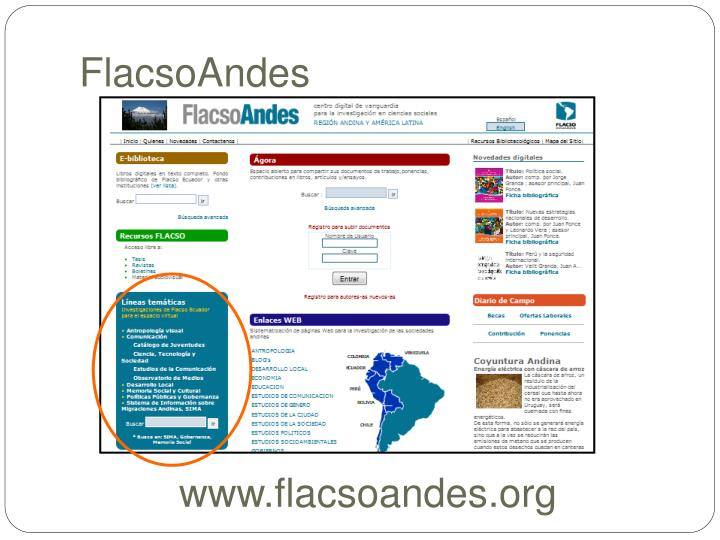 FlacsoAndes