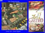 die gastronomie