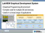 labview graphical development system
