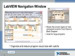 labview navigation window