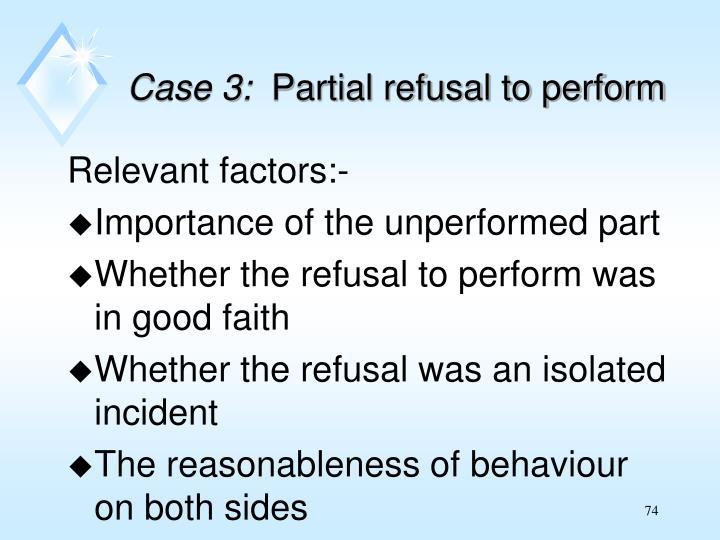 Case 3: