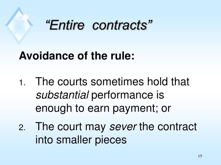 """""""Entire  contracts"""""""