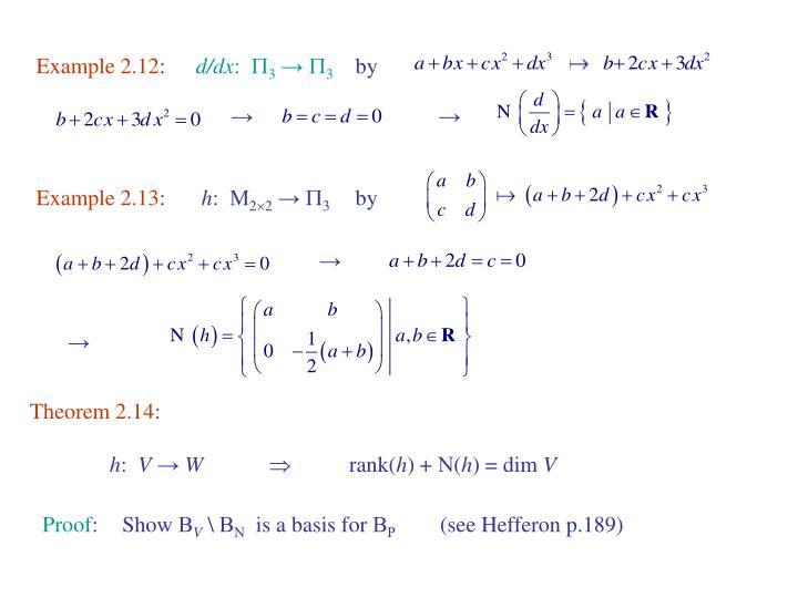 Example 2.12