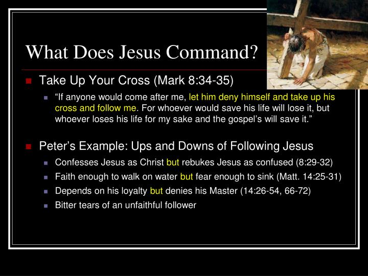 What Does Jesus Command?