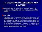 4 discharge by agreement and novation