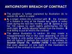 anticipatory breach of contract2