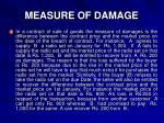 measure of damage1