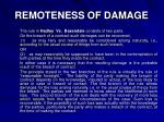 remoteness of damage1