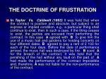 the doctrine of frustration2
