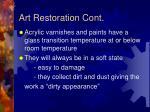 art restoration cont1