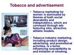 tobacco and advertisement1