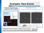 examples rare events