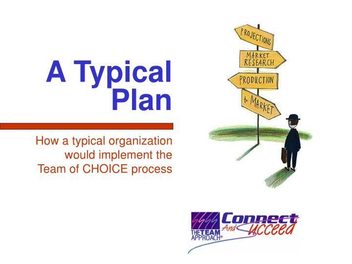 A Typical Plan